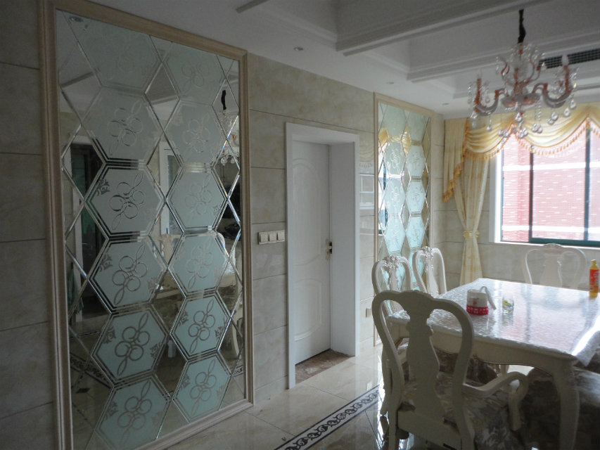 室内水泥仿木板墙图片